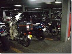 駿河健康ランド駐車場にて