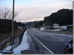 雪の鈴鹿峠